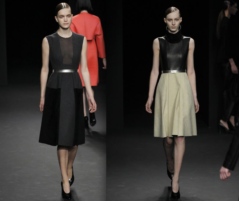 Calvin Klein Is Polished And Chic For Fall 2012