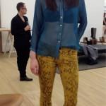 7 jeans on model