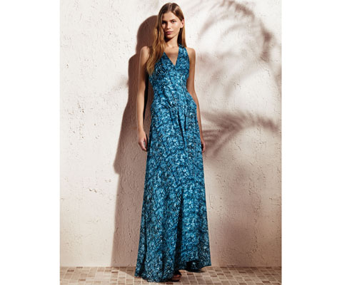 Derek Lam for DesigNation v-neck maxi dress: $88