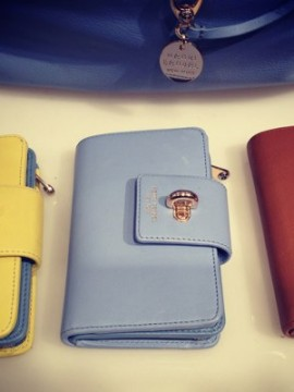 West 57th Medium Continental, $168; How gorgeous are these wallets?