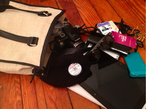 look inside my land_s end bag