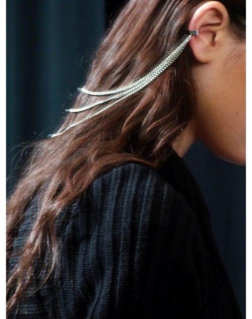 mara hoffman closeup hair