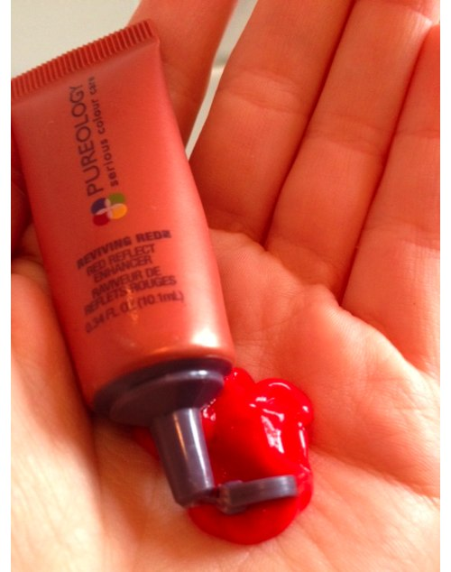 pureology red reflect enhancer