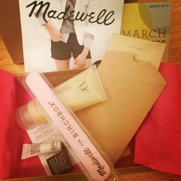 madewell + birchbox
