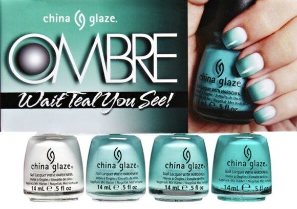 china glaze ombre nails