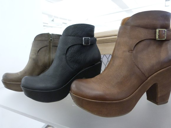 hh brown booties fall 2013