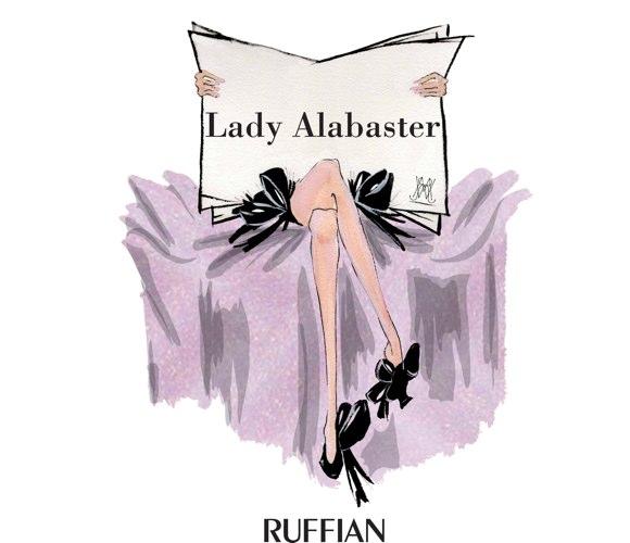 ruffian lady alabaster