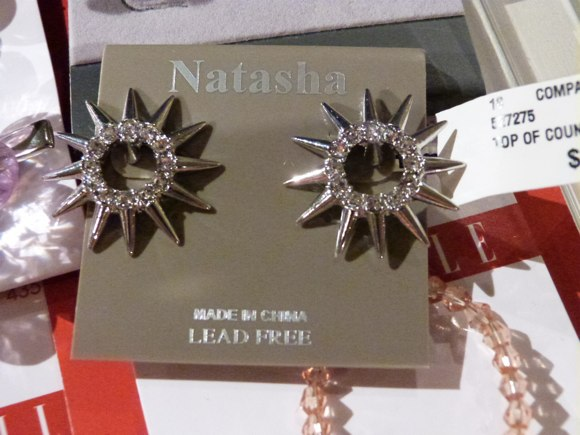 tjmaxx natasha earrings
