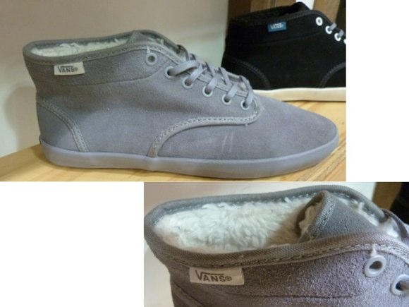 vans fleece lined