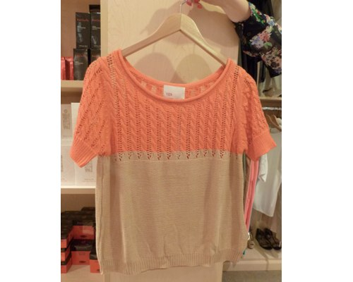 Yoon Mixed Knit Sweater