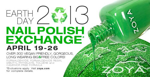 Zoya Nail Polish Exchange 2013