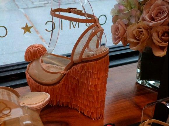 charlotte olympia fringe sandal