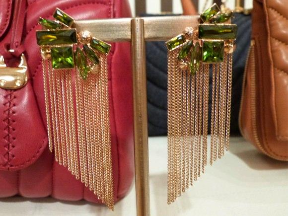 henri bendel earrings fall 2013