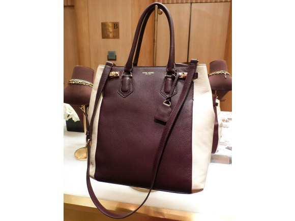 henri bendel two tone bag