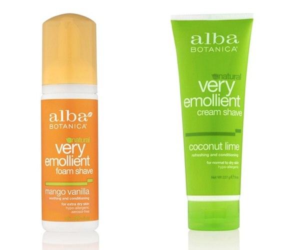 alba botanica shaving cream