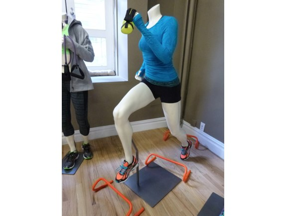 athleta mannequin