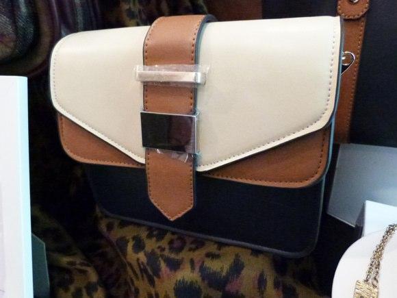 cotswalds colourblock double flap x body bag accessorize