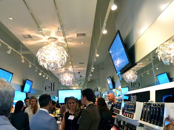 elf store party