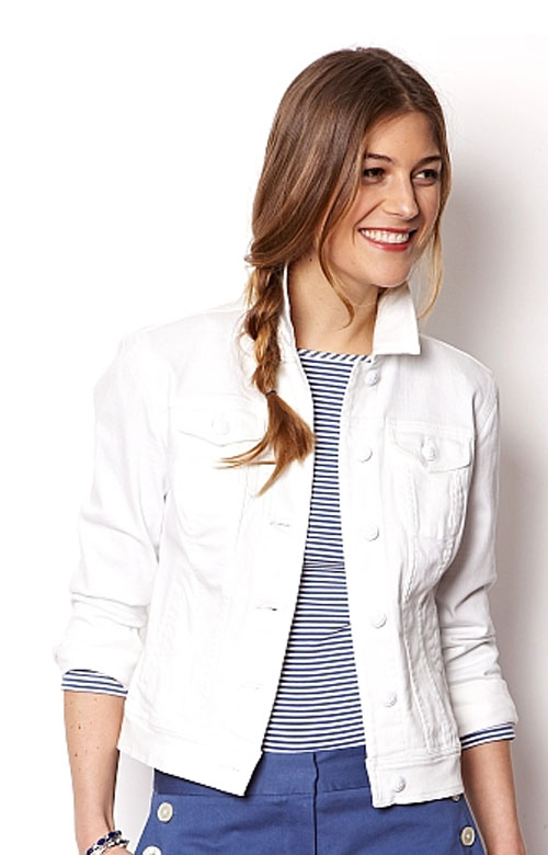 nautica white jacket