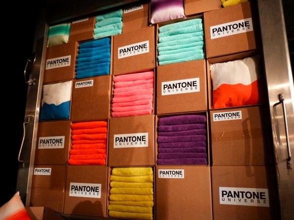 pantone universe towels