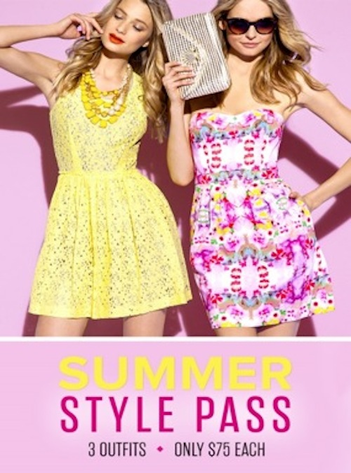 Rent the Runway Summer Style Pass