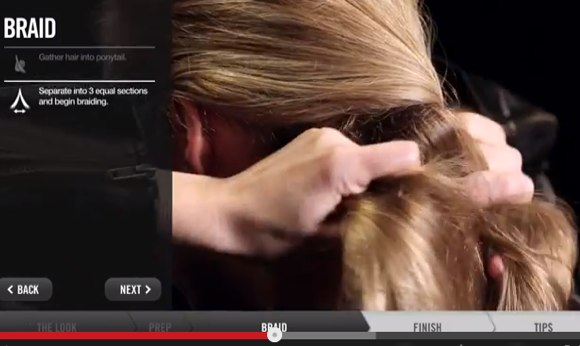redken hair tutorials
