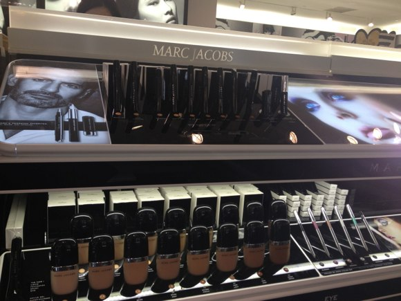 marc jacobs beauty launches seophora stores