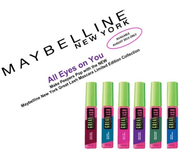 maybelline great lash limited edition colored mascara where to buy