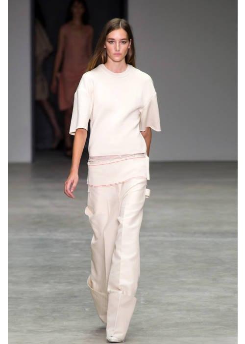 [Calvin Klein Spring 2014l Image via ELLE.com]