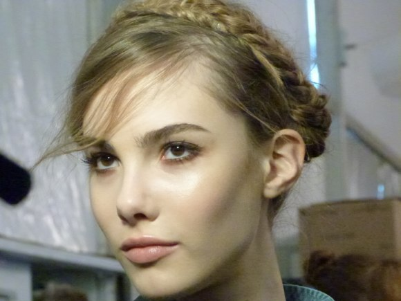 rebecca minkoff spring 2014 hair