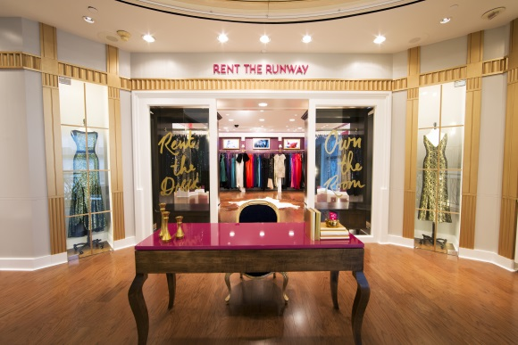 Rent The Runway's Showroom at Henri Bendel