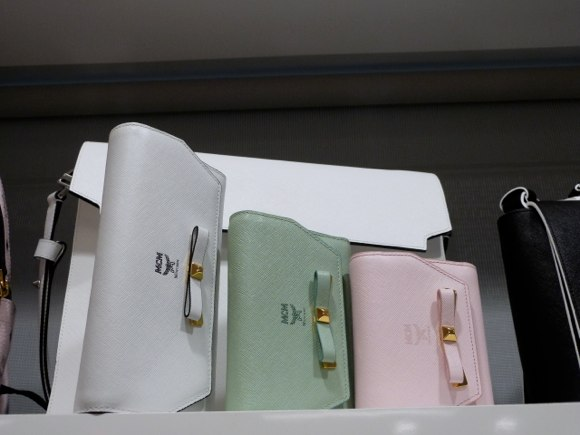 MCM bowtie wallets