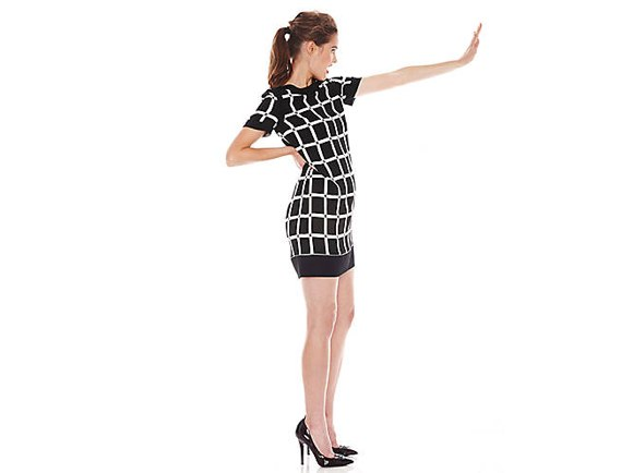 MICHAEL MICHAEL KORS Ellington Print Stretch Viscose Dress