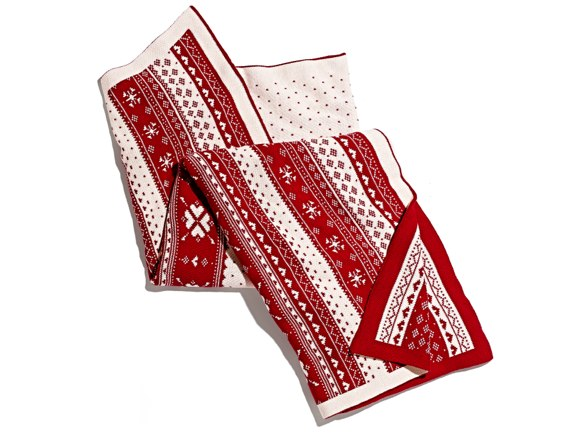 Red and White Throw Blanket - Marshalls