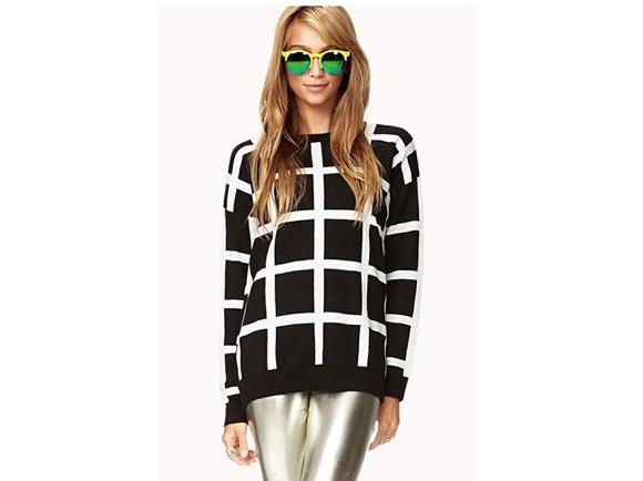 Spotlight Windowpane Sweater