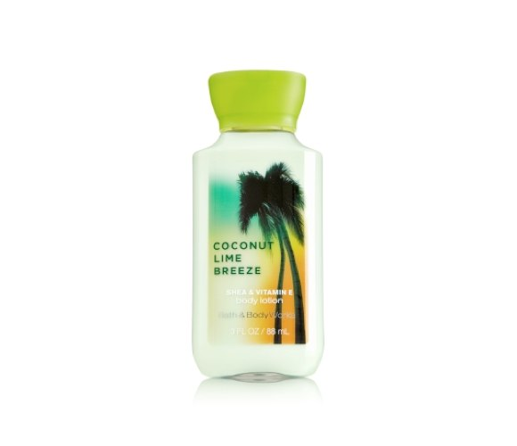 bath and body works coconut lime breeze