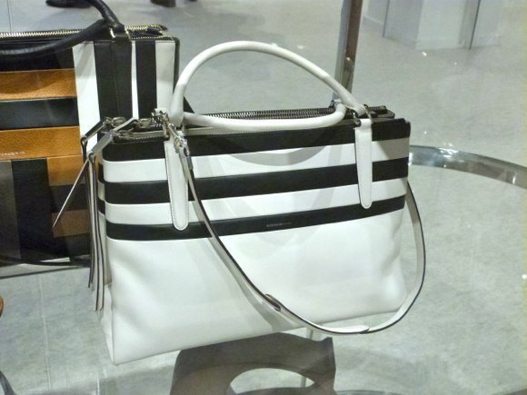 coach spring 2014 black and white