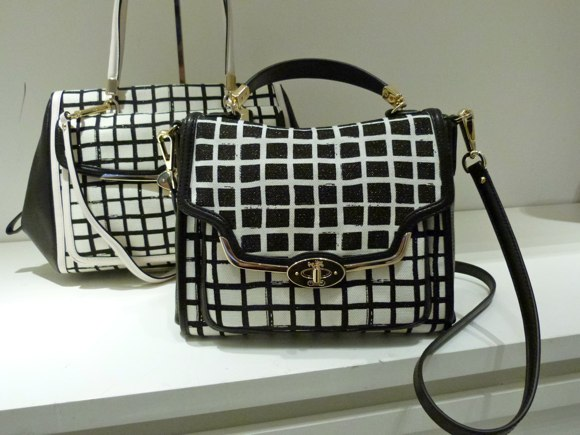 coach windowpane bags