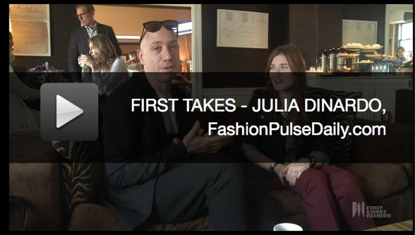 first comes fashion robert verdi julia dinardo