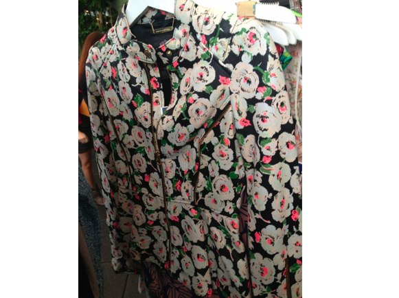 juicy couture floral jacket