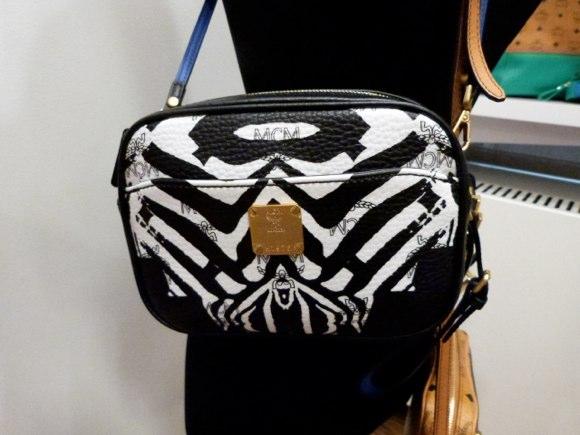 MCM Funky Zebra Crossbody Mini