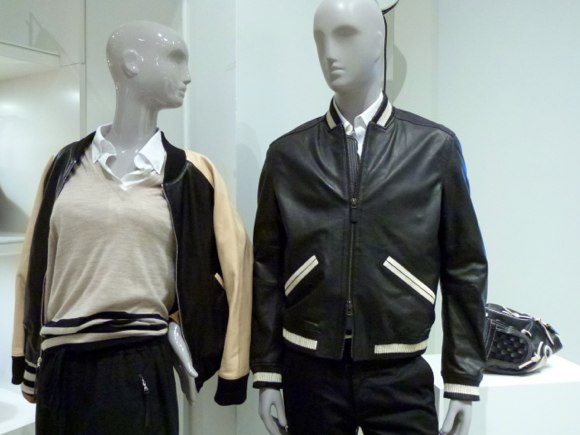 women and mens Coach apparel spring 2014