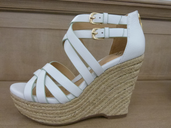 SOFFT wedges spring 2014 white espadrille
