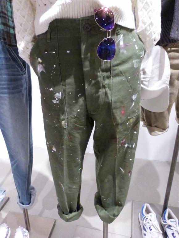 aeo spring 2014 splatter pants