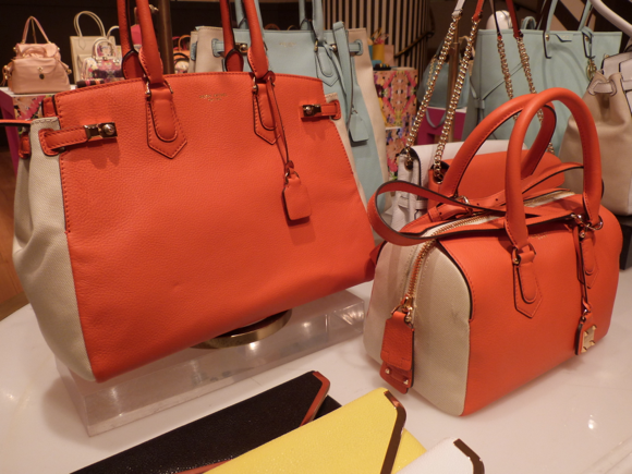 bendel orange bag