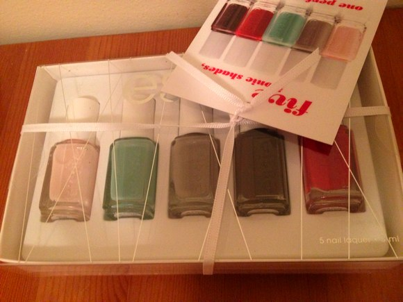 essie limited edition holiday collection 2013