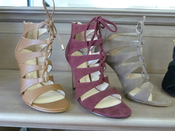 isola spring 2014 LACE UP HEELS