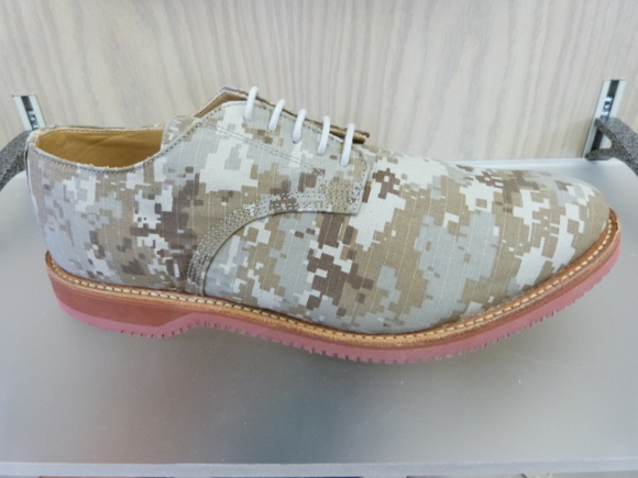 mens spring 2014 camo walk-over shoes