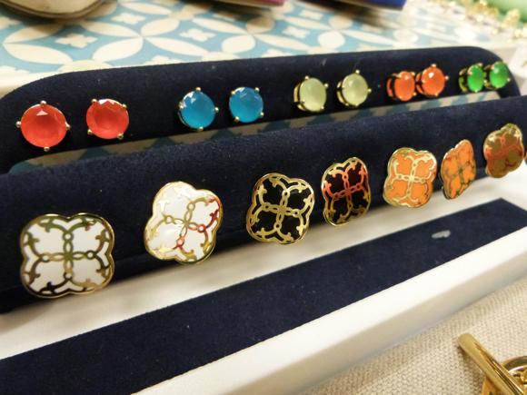 stud earrings cwonder spring 2014