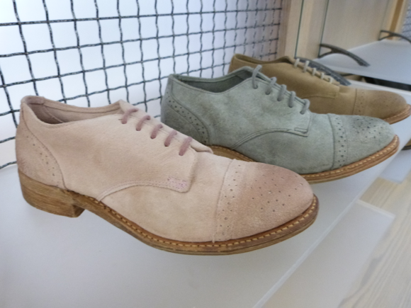 walk-over shoes spring 2014 pastels